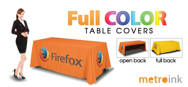 Table Throws Table Covers Full Color